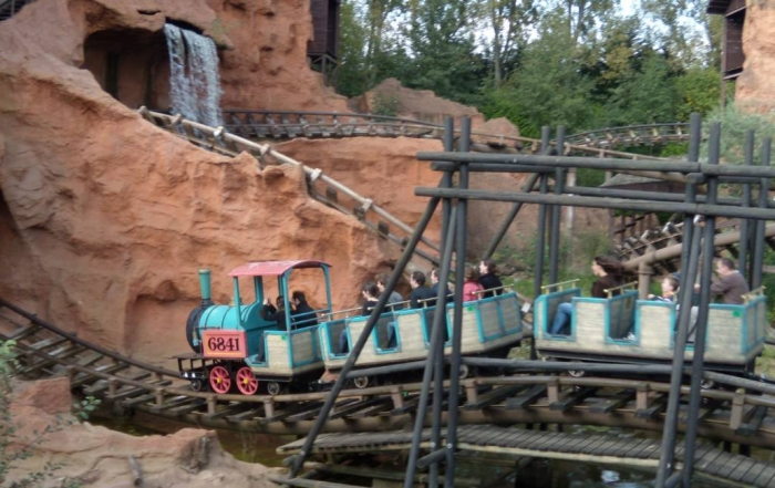 Achtbaan Mine Train in Slagharen