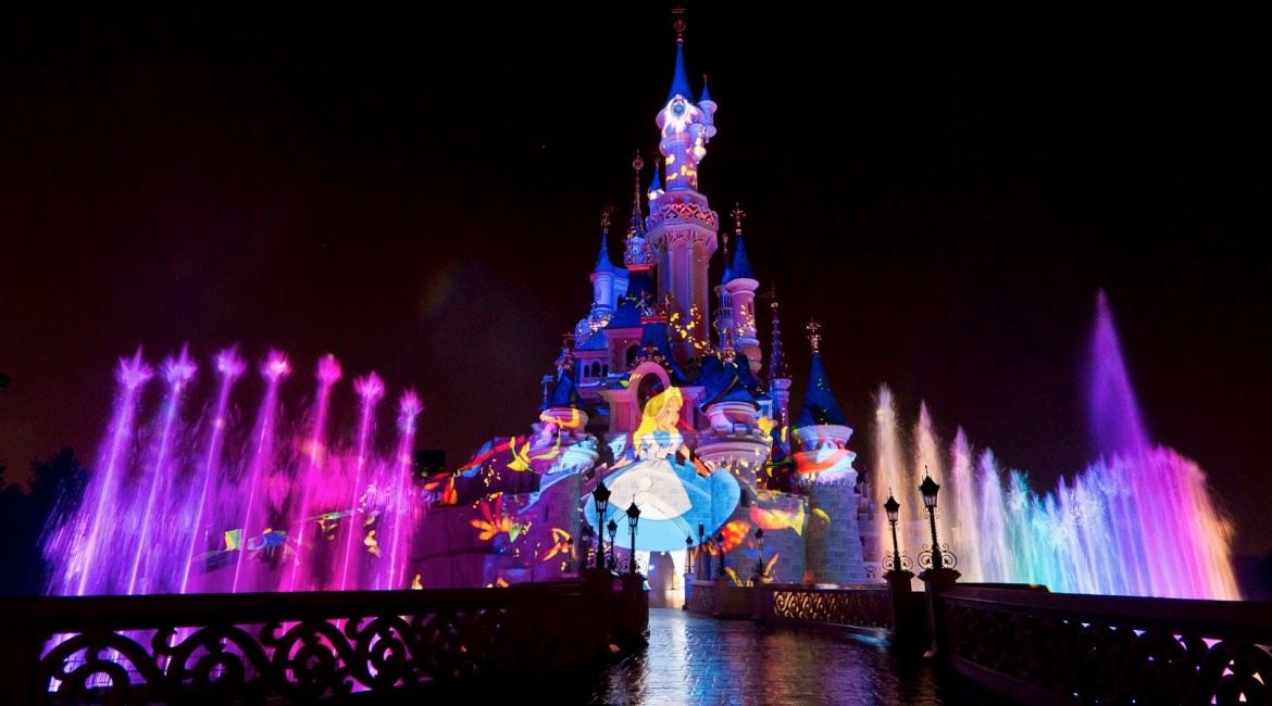 Disney Dreams show in Disneyland Parijs